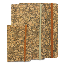 Cork board cover journal