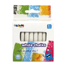 White chalks 48 pack