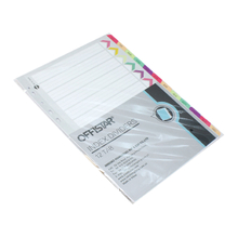 Jan.-dec. file dividers with pet tab