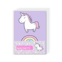 Unicorn And Rainbow Magnets