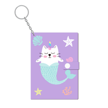 Small Silicon Keyring Notebook