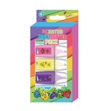5PK Scented Mini Highlighters