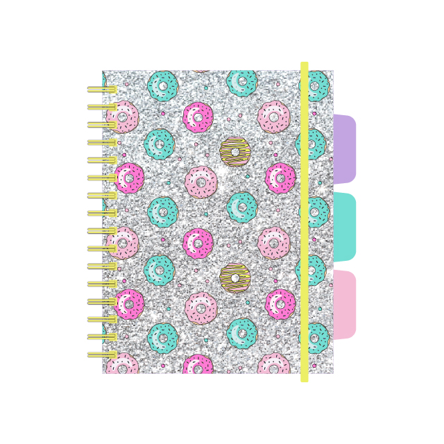 A5 Spiral Notebook With Pp Divider