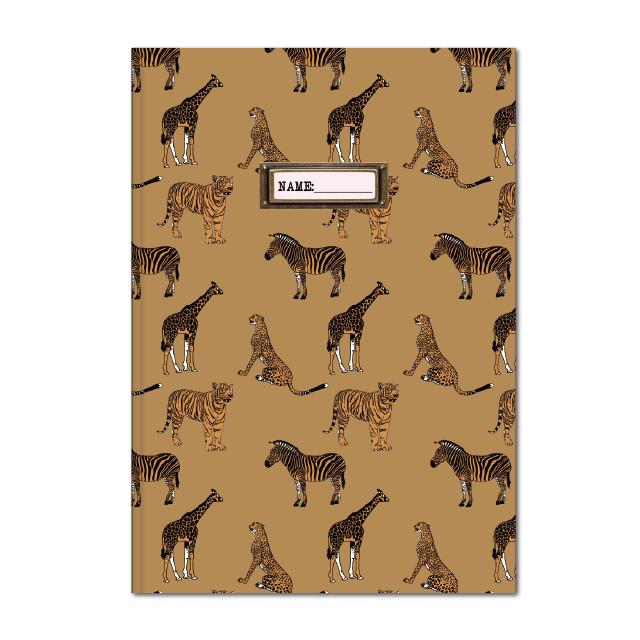 B5 kraft notebook